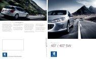 407-407SW 0608 CHI - Peugeot