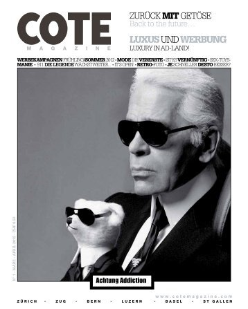 LUXUSUNDWERBUNG - Cote Magazine