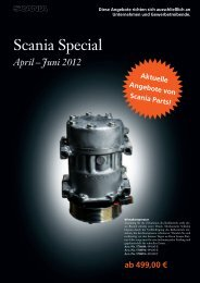 Scania Special - Motoren Baader GmbH