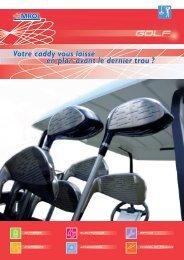 Batteries pour Golf Cars - Emrol