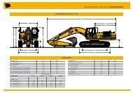 RAUPENBAGGER JS360 AUTO | SPEzIfIKATION - DEMCO JCB
