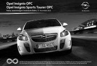 Opel Insignia OPC Opel Insignia Sports Tourer OPC - Opel-Infos.de