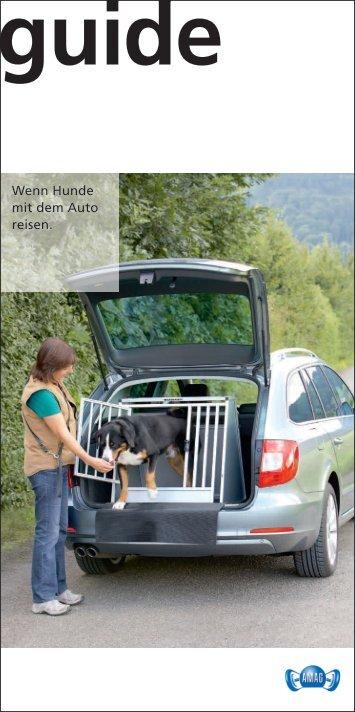 Wenn Hunde mit dem Auto reisen. - Sprüngli Druck AG