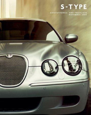 S-TYPE Preisliste 07.25MY Euro D8d - Jaguar House Kohler
