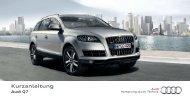 Kurzanleitung Q7 - PDF - Audi