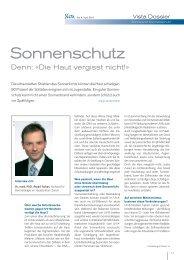 Sonne und Sonnenschutz - lendenmann.org
