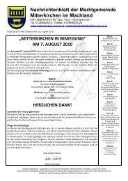 Juli 2010 - Mitterkirchen im Machland