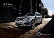 Preisliste GLK Offroader - Mercedes-Benz Deutschland