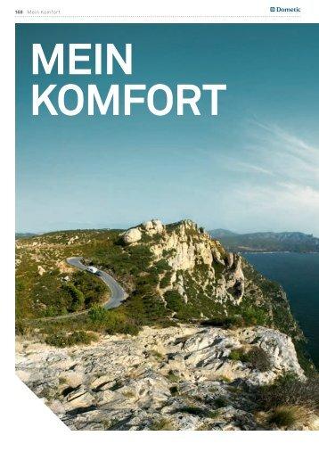 168 Mein Komfort - Das Bordbuch