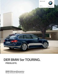 Sonderausstattungen - BMW Deutschland