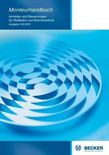 Monteurhandbuch - Becker-Antriebe - Home