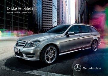Download Preisliste C-Klasse T-Modell - Mercedes-Benz Deutschland