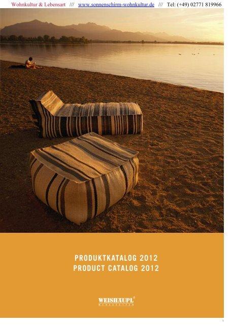 produktkatalog 2012 product catalog 2012 - WEISHÄUPL ...