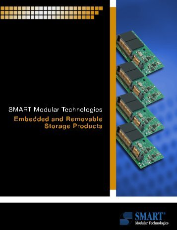 Overview Embedded-FLASH Drives from SMART Modular