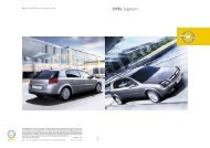 Signum. Wann lassen Sie sich begeistern? - Opel-Infos.de