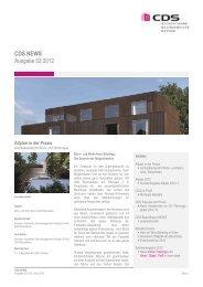 CDS NEWS Ausgabe 02 2012