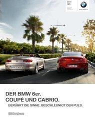 DER BMW 6er. COUPÉ UND CABRIO.