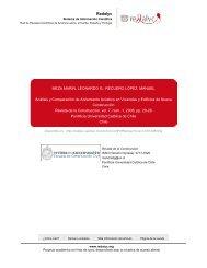 Redalyc.Análisis y Comparación de Aislamiento Acústico en ...