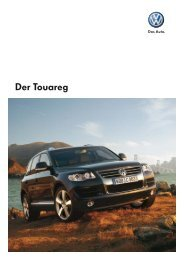 Der Touareg - Tauwald Automobile, Ihr VW