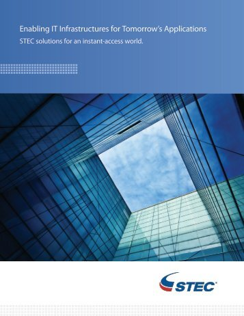 Enterprise SSD Overview - STEC, Inc.