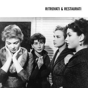 RITROVATI & RESTAURATI - Comune di Bologna