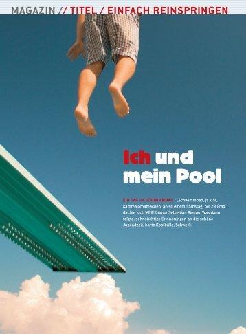 Ich und mein Pool - Sebastian Riemer