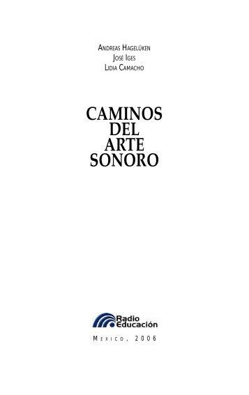 CAMINOS DEL ARTE SONORO - Asrav