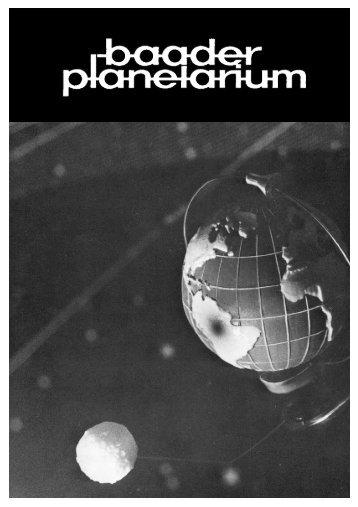 Wenn Sie noch mehr wissen wollen - Baader Planetarium