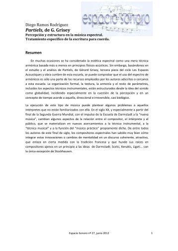 Artículo completo en PDF - espacio sonoro