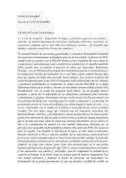 ESPACIO SONORO Revista de TALLER SONORO ENTREVISTA ...