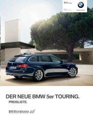 Preise 5er Touring - BMW-Treff
