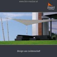 LISORI Sonnensegel - Sonnenschutzlösungen bei TKM Klaus Madzar