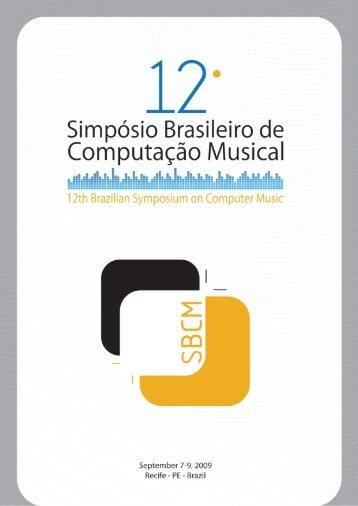 Complete Proceedings in PDF - Grupo de Computação Musical ...