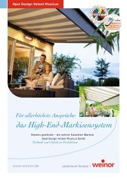das High-End-Markisensystem - kd-services.de
