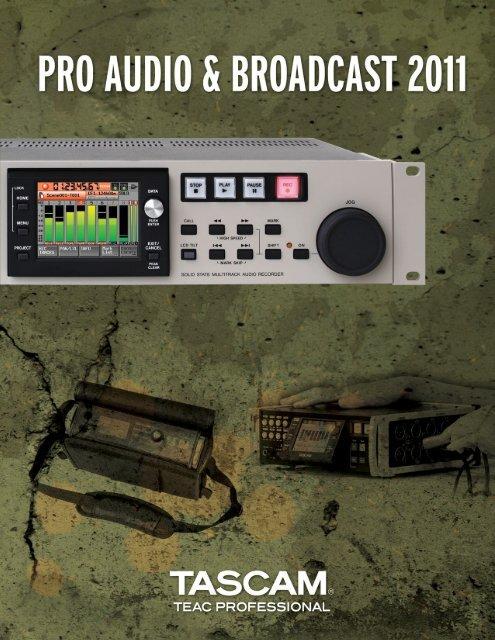 2011-05-24 17:29:43 | TASCAM Pro