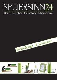 Katalog 2011 - Spuersinn24