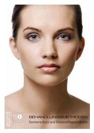 Behandlungsmethoden Sonnenschutz und ... - vhv beauty group