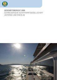 1 Geschäftsbericht 2009 SchweizeriSche SchifffahrtSgeSellSchaft ...