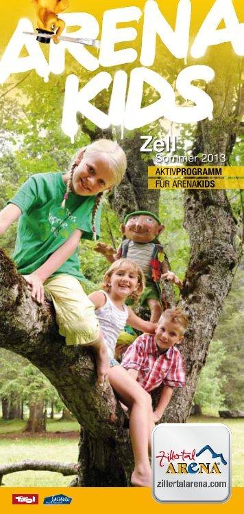 Programm zum Download! - Zillertal Arena