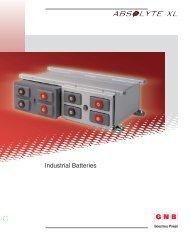 Industrial Batteries - www.zircon.co.th
