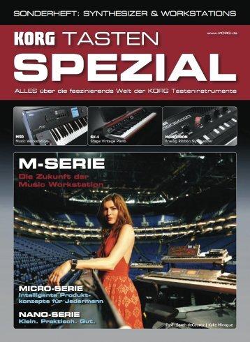 KORG Tasten Spezial 10 / 2010