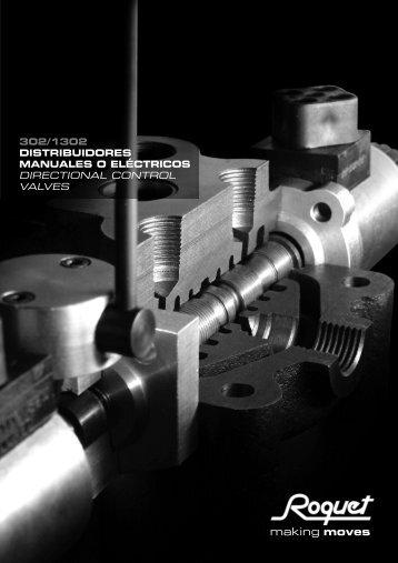 Catálogo Distribuidor Hidráulico Monobloque Mod ... - Interempresas