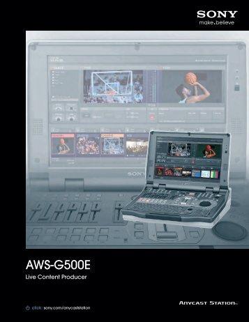 AWS-G500E - Sony