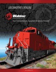 Locomotive Product Catalog - Wabtec