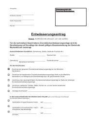 Entwässerungsantrag (140 kb) - Meckenbeuren