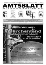 Amtsblatt vom 17.09.10 - Meckesheim