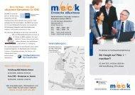 Flyer zur Veranstaltung - MECK