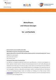 Dokumentvorlage Seminararbeit - MECK