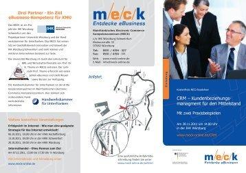 Flyer mit Faxanmeldung - MECK