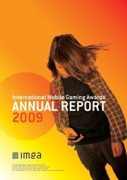 Annual report 5th IMGA